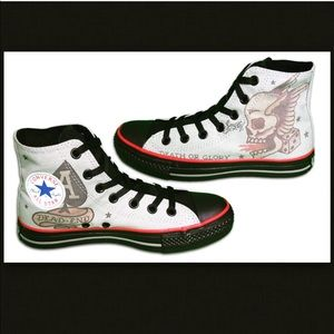 Converse Sailor Jerry Death or Glory-Grey